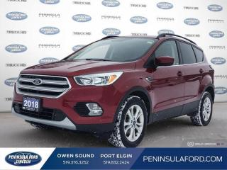 Used 2018 Ford Escape SE - Bluetooth -  Heated Seats - $142 B/W for sale in Port Elgin, ON