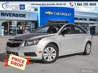 Used 2014 Chevrolet Cruze 1LS for sale in Brockville, ON