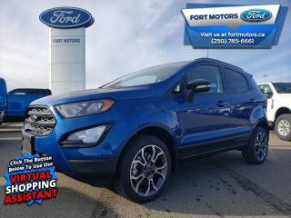 New 2020 Ford EcoSport SES 4WD  - Leather Seats - $209 B/W for sale in Fort St John, BC