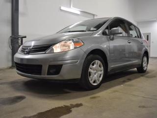 Used 2010 Nissan Versa 1.8S CVT GROUPE ÉLECTRIQUE AC BAS KM for sale in Vaudreuil-Dorion, QC