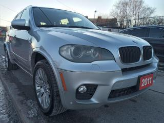 Used 2011 BMW X5 35i-7 SEATS-NAVI-BK UP CAM-LEATHER-PANOROOF-ALLOYS for sale in Scarborough, ON