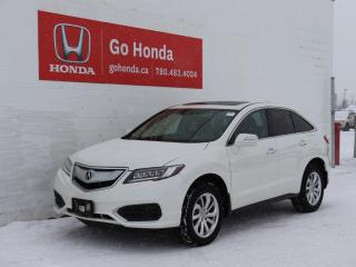 Used 2018 Acura RDX TECH AWD NAVIGATION SUNROOF LEATHER ONE OWNER for sale in Edmonton, AB