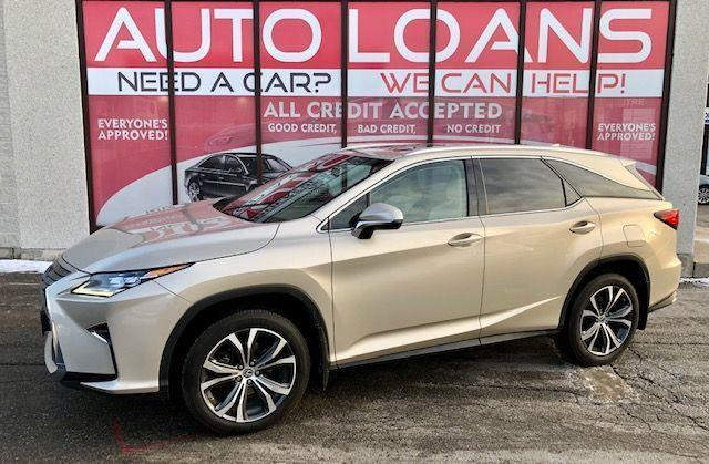 2018 Lexus RX RX 350L-ALL CREDIT ACCEPTED