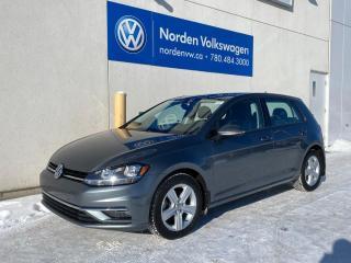 Used 2018 Volkswagen Golf COMFORTLINE 5DR - HTD SEATS / VW CERTIFIED for sale in Edmonton, AB