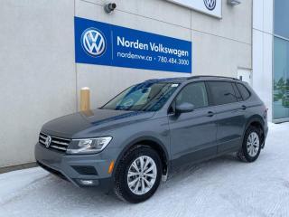 Used 2018 Volkswagen Tiguan TRENDLINE W/ CONVENIENCE PKG / VW CERTIFIED for sale in Edmonton, AB