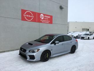 Used 2019 Subaru WRX STI / Touch Screen / Low KM / BlueTooth / Backup Camera for sale in Edmonton, AB