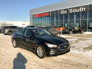 Used 2016 Infiniti Q50 2.0T, AWD, LEATHER for sale in Edmonton, AB