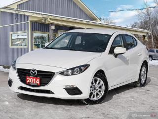 Used 2014 Mazda MAZDA3 GS-SKY, REAR VIEW CAM, BLUETOOTH, USB PORTS for sale in Orillia, ON