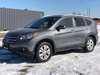 Used 2013 Honda CR-V Touring Leather Roof Clean Carfax  for sale in Bolton, ON