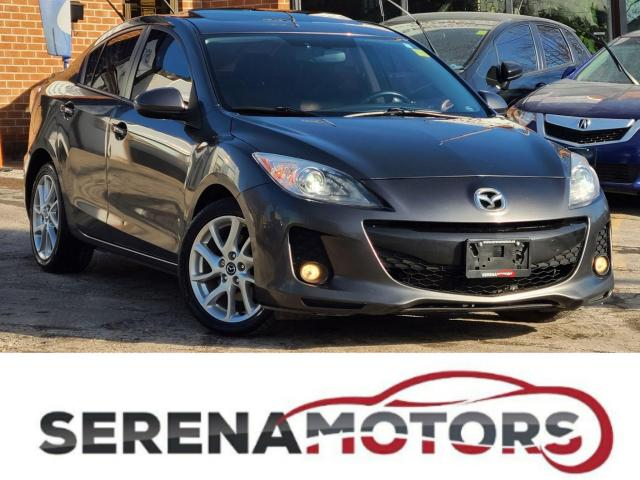 2013 Mazda MAZDA3 GT | MANUAL | TOP OF THE LINE | NO ACCIDENTS