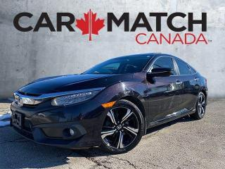 Used 2017 Honda Civic TOURING / NO ACCIDENTS / 72,325 KM for sale in Cambridge, ON