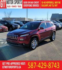 Used 2016 Jeep Cherokee Limited | $0 DOWN EVERYONE APPROVED! for sale in Calgary, AB