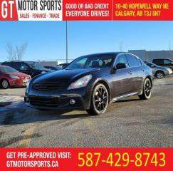 Used 2013 Infiniti G37 Sport AWD | $0 DOWN - EVERYONE APPROVED! for sale in Calgary, AB