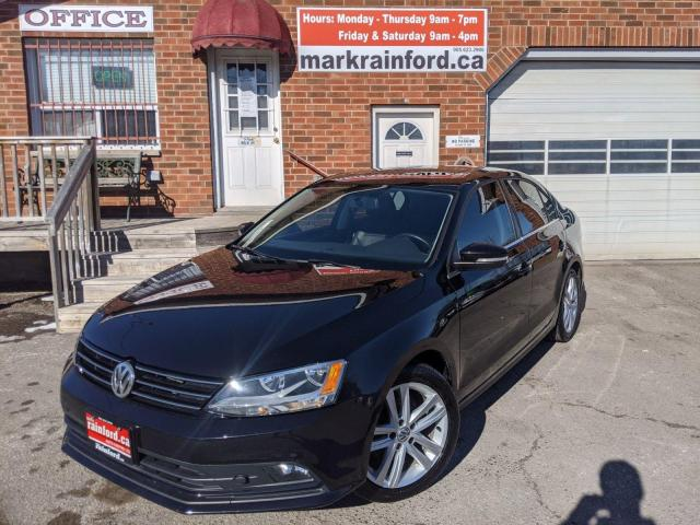 2015 Volkswagen Jetta TDI Highline Heated Leather Sunroof Automatic