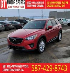 Used 2014 Mazda CX-5 GT | AWD | $0 DOWN - EVERYONE APPROVED! for sale in Calgary, AB