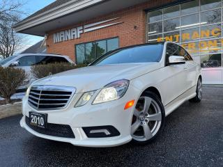 Used 2010 Mercedes-Benz E-Class 4MATIC Navi Panoramic Sunroof Heated Seats Certi* for sale in Concord, ON