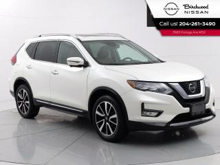 Used 2017 Nissan Rogue SL Reserve  Leather, 360 Camera's, Navigation, Moonroof, Bose Audio for sale in Winnipeg, MB