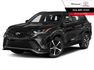 New 2021 Toyota Highlander XSE AWD for sale in Winnipeg, MB