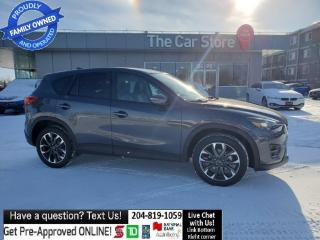 Used 2016 Mazda CX-5 GT Navigation Leather Sunroof REAR cam NO ACCIDNTS for sale in Winnipeg, MB