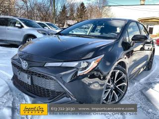 Used 2019 Toyota Corolla Hatchback LIKE NEW! ALLOYS  CLOTH  HTD SEATS/WHEEL  BACKUP C for sale in Ottawa, ON