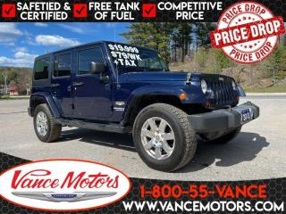 Used 2013 Jeep Wrangler Unlimited Sahara 4x4...CHEAPEST IN CANADA!!! for sale in Bancroft, ON
