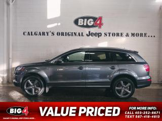 Used 2015 Audi Q7 3.0T TFSI Sport Vorsprung Edition for sale in Calgary, AB