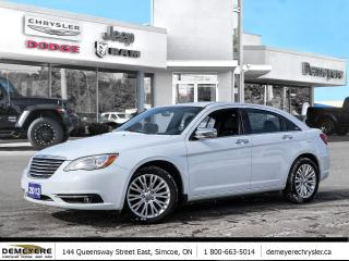 Used 2013 Chrysler 200 LIMITED | LEATHER | SUNROOF for sale in Simcoe, ON