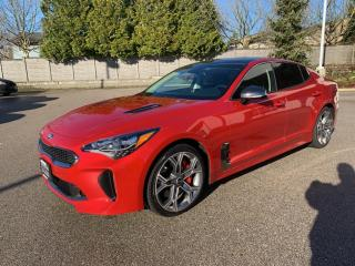 Used 2019 Kia Stinger GT**AWD**LOW KMS*ACCIDENT FREE for sale in Surrey, BC