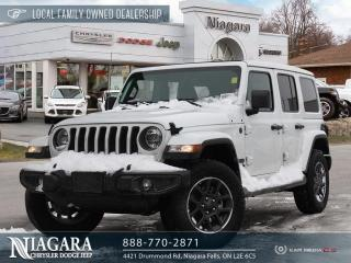 New 2021 Jeep Wrangler Unlimited Sahara 80th Anniversary Edition for sale in Niagara Falls, ON
