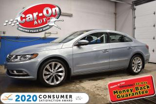 Used 2013 Volkswagen Passat CC HIGHLINE | LEATHER | NAVIGATION | SUNROOF for sale in Ottawa, ON