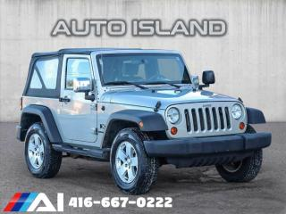 Used 2007 Jeep Wrangler 4WD 2DR X for sale in North York, ON