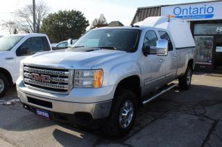 Used 2011 GMC Sierra 2500 HD Z71 4WD Crew Cab 8ft Long box SLE for sale in Mississauga, ON