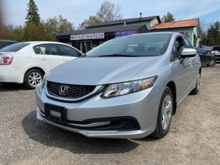 Used 2014 Honda Civic 4dr Cvt Lx for sale in Gwillimbury, ON