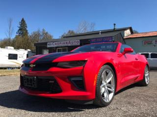 Used 2016 Chevrolet Camaro 2DR CONV SS W/2SS for sale in Gwillimbury, ON