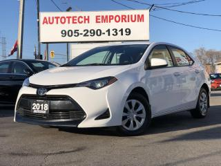 Used 2018 Toyota Corolla Backup Camera/Bluetooth/Collision Detection&GPS* for sale in Mississauga, ON