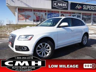 Used 2015 Audi Q5 2.0T quattro Progressiv  ROOF LEATH HTD-SEATS 18-AL for sale in St. Catharines, ON