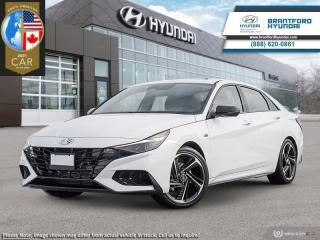 New 2021 Hyundai Elantra N-Line DCT  - $175 B/W for sale in Brantford, ON