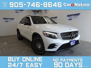 Used 2017 Mercedes-Benz GL-Class GLC 43 | AMG | 4MATIC | ROOF | NAV | ONLY 36 KM! for sale in Brantford, ON