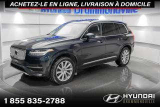 Used 2017 Volvo XC90 T6 INSCRIPTION + GARANTIE + NAVI + TOIT for sale in Drummondville, QC
