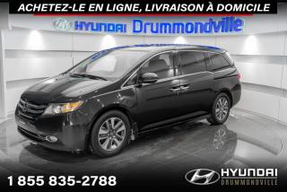Used 2017 Honda Odyssey TOURING + GARANTIE + NAVI + TOIT + WOW ! for sale in Drummondville, QC