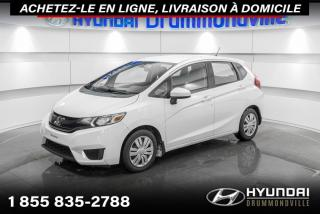 Used 2016 Honda Fit LX + GARANTIE + CAMERA + A/C + WOW !! for sale in Drummondville, QC