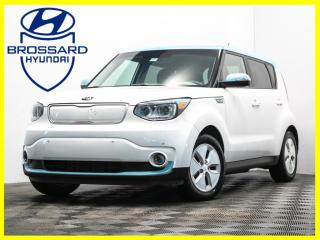 Used 2016 Kia Soul EV EV LUXURY 100% CAM DE RECUL CUIR NAV MAGS for sale in Brossard, QC
