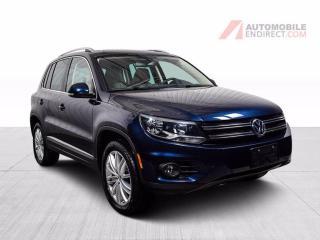 Used 2017 Volkswagen Tiguan COMFORTLINE 4MOTION CUIR TOIT PANO MAGS NAV for sale in St-Hubert, QC