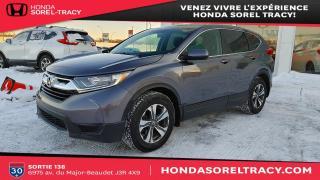 Used 2018 Honda CR-V LX 2RM bas kilométrage-démarreur-carplay for sale in Sorel-Tracy, QC