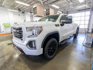 Used 2020 GMC Sierra 1500 AT4 CREW ALERTES SIÈGES VENT / CHAUF TOIT *NAV* for sale in St-Jérôme, QC
