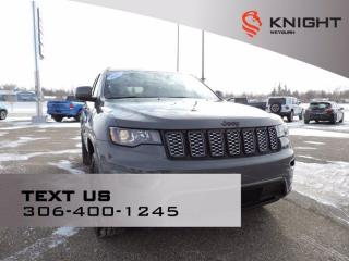 New 2021 Jeep Grand Cherokee Altitude B/U Camera | Remote Start | Heated Seats/Steering Wheel | Power Liftgate | Cust Pref Pkg for sale in Weyburn, SK