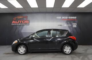 Used 2010 Nissan Versa 1.8 S AUTOMATIQUE AIR CLIMATISÉ VITRES PNEUS HIVER for sale in Lévis, QC