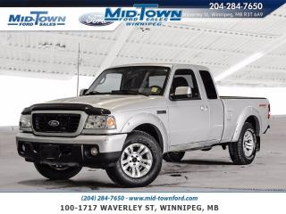 Used 2009 Ford Ranger Sport 4X4 for sale in Winnipeg, MB