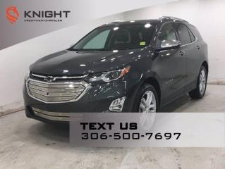 Used 2018 Chevrolet Equinox Premier AWD | Leather | Sunroof | Navigation | for sale in Regina, SK