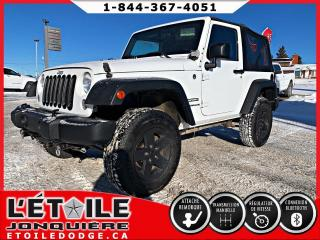Used 2015 Jeep Wrangler 4x4 2 portes Manuel Sport for sale in Jonquière, QC